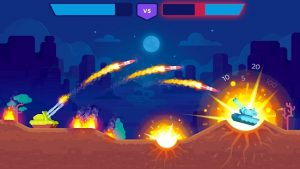 Tank Stars Mod APK (Unlocked Tanks & Weapons) 4