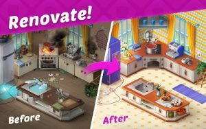 Homescapes Mod APK (Unlimited Coins and Stars) 3