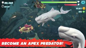 Hungry Shark Evolution Mod APK (Unlimited Gems/Coins) 3
