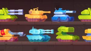 Tank Stars Mod APK (Unlocked Tanks & Weapons) 2