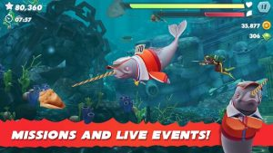 Hungry Shark Evolution Mod APK (Unlimited Gems/Coins) 2